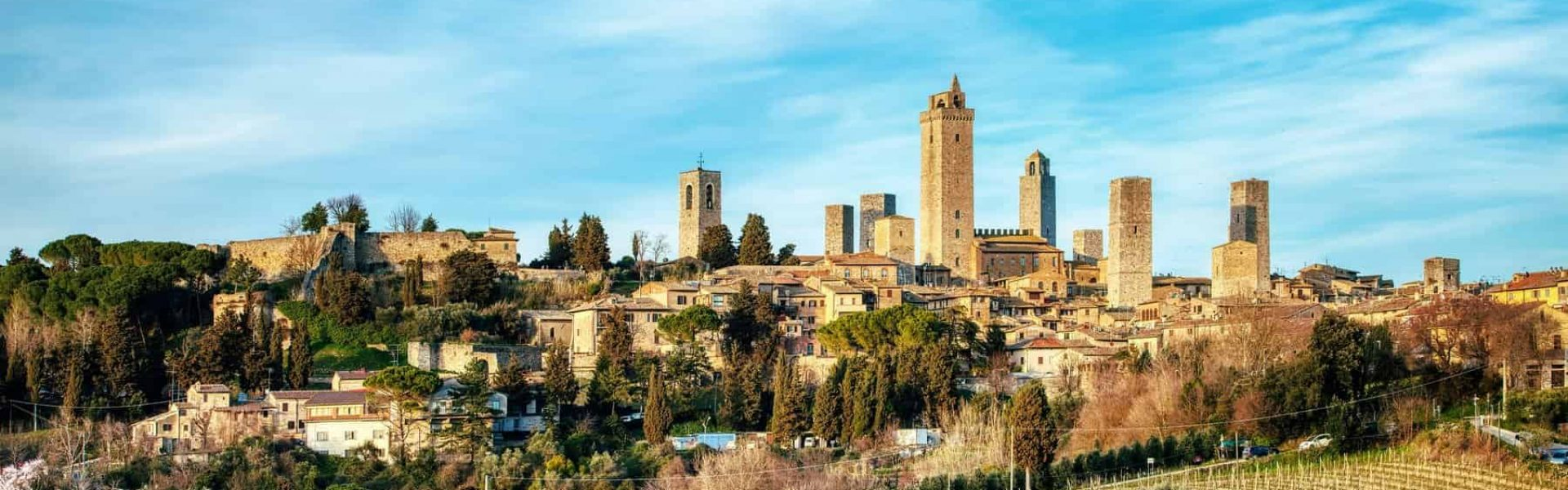 Saint Gimignano. medieval city in Tuscany Italy. Called the Manhattan of the Middle Ages